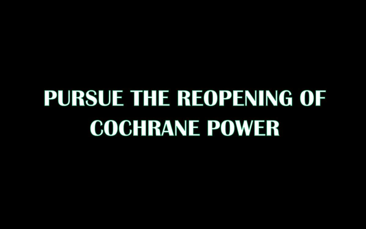 Cochrane Power Pic